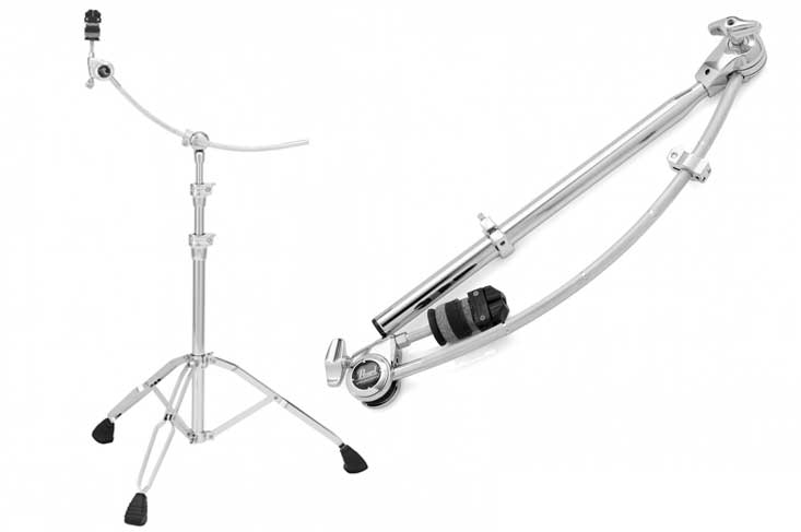pearl curved boom arm stand